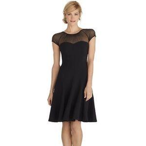White House Black Market Illusion Dress